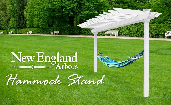 New England Arbors Hammock Stand
