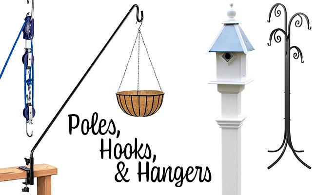 Poles, Hooks, & Hangers