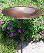 Achla Classic II Bird Bath and Stake, Copper