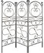 "Achla Ferro Firenze Trellises, Brown, 84""H, Pack of 3"