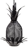 Achla Pineapple Bird Feeder, Black
