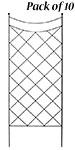 American GardenWorks Diamond Lattice Trellises, Pack of 10