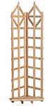 """Arboria Deco Freestanding Cedar Trellis, 70""""H"""