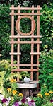 "Arboria Lexington Cedar Trellises, Tan, 72""H, Pack of 6"