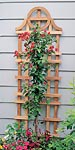"Arboria Savannah Cedar Trellises, Tan, 72""H, Pack of 6"