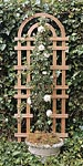 "Arboria Monticello Cedar Trellises, Tan, 72""H, Pack of 6"