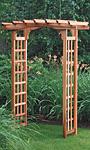 """Arboria Astoria Cedar Arbor, 86""""H"""