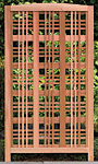"Arboria Hampton Cedar Landscape Screen, Tan, 65.5""H"