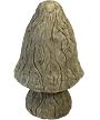 Athens Mushroom Statue, Large, Aged Pine