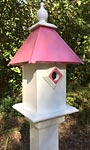 Wing & A Prayer Cancer Awareness Classic Bluebird House