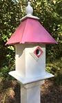 Wing & A Prayer Cancer Awareness Classic Bluebird House