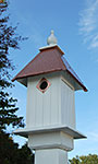 Wing & A Prayer Cathedral Bird House, Hammered Copper Roof