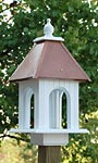 Wing & A Prayer Dogwood Bird Feeder, Hammered Copper Roof