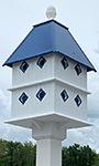 Wing & A Prayer Manor House, Cobalt Blue Roof