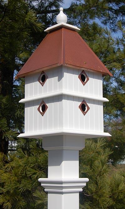 Wing U0026 A Prayer Plantation Bird House, Hammered Copper Roof At BestNest.com