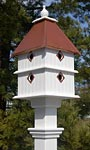 Wing & A Prayer Plantation Bird House, Hammered Copper Roof