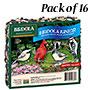 Birdola Junior Seed Cakes, 6.5 oz. each, Pack of 16