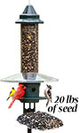 Squirrel Buster Plus Bird Feeder w/ Pole, Guard, and Seed