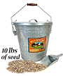 Woodlink Rustic Farmhouse Seed Container & 10 lbs. Seed