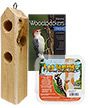 BestNest Log Jammer Suet Feeding Kit
