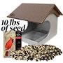 Polywood Recycled Plastic Cardinal Platform Bird Feeder Kit