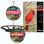 BestNest Cardinal Stacker Seed Cakes and Feeder Package