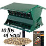 Heritage Farms Absolute II Bird Feeder with Waste Free Seed