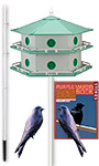 Heath 12-Room Deluxe Purple Martin House Package