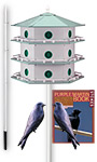 Heath 18-Room Deluxe Purple Martin House Package