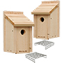 Woodlink Deluxe Bluebird Houses with Nest Lifts