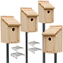 Woodlink Bluebird House Package with Poles
