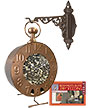 Good Directions Time Flies Bird Feeder with Hanger and Book