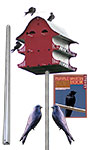 S&K 16 Room Purple Martin House Package