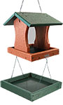 BestNest Going Green Premier Bird Feeder w/ Seed Catch Tray