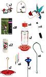 BestNest Starter Hummingbird Feeding Kit