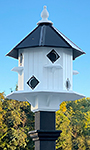 Wing & A Prayer Castle Bird House with Slate Mounting Post