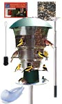 Wild Bills Electronic Bird Feeding Package, 12 Port