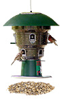 Wild Bills Electronic Bird Feeder & Waste Free Seed, 8 Port