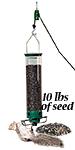 Droll Yankees Yankee Flipper Bird Feeder w/Seed & Hanger