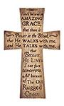 "Old Rugged Cross Wall Art, Tan, 9.25""W x 15""H"