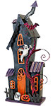 Haunted House Statue with LED
