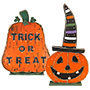 Giant Jack-O-Lantern and Trick or Treat Pumpkin Kit