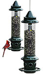 Brome Squirrel Buster Plus Squirrel Proof Bird Feeders, 2 Pk