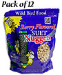 C&S Berry Flavored Suet Nuggets, 27 oz., 12 Bags