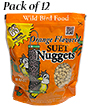 C&S Orange Flavored Suet Nuggets, 27 oz., 12 Bags