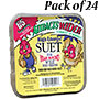 C&S High Energy Suet Cakes, 11.75 oz., Pack of 24