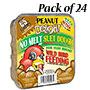 C&S Peanut Delight No Melt Suet Dough, 11.75 oz., 24 Cakes
