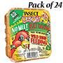 C&S Insect Delight No Melt Suet Dough, 11.75 oz., 24 Cakes