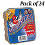 C&S Woodpecker Treat Premium Suet Cakes, 11 oz., 24 Cakes