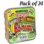 C&S Woodpecker Delight No Melt Suet Dough, 11.75 oz., 24 Pk